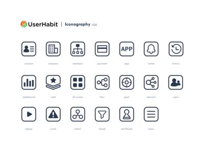 Userhabit Icon Set (ver 2.0)