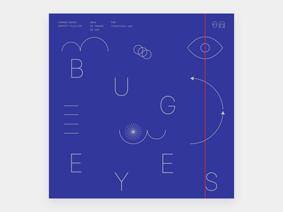 Bug Eyes - Playlist playlist nowplaying spotify cover artwork cover design cover
