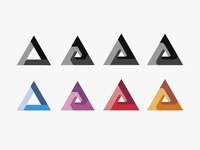 Triangular Logo Process
