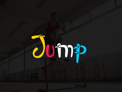 Jump Logo sports and body fitness company creative sign logotype health human abstract sport illustration business fitness vector jump logo concept icon jump