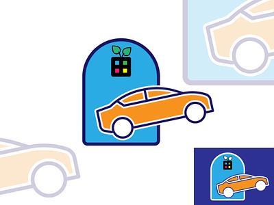 Car house logo concept card and home/garage| trending logo 2021 car auto identity logotype dealer fast shape modern garage motor automobile transport vehicle sport automotive company store corporate caricon carlogo