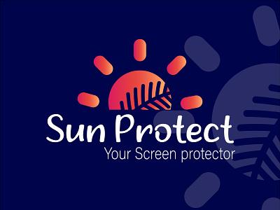 Sun protect your screen protector trending logo and icon 2021 trending icondesigne logo designe outline sun beach ocean sea sunset sunrise water simple circle sun-modern sun-icon sun-design modern icon brandidentity branding