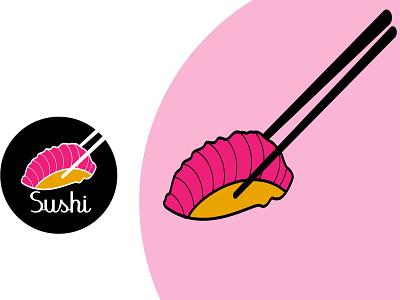 Sushi brand restaurant logo from start to restaurant business app logo app icon eccommers logo business logo resturent logo modernlogo animal bar fishing sushi fish logo branddesigne logodesigne resturent illustration creativelogo icon brandidentity branding