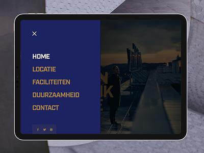 CitPost Menu branding ux typography clean design layout menu ui