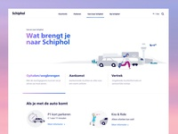 Schiphol.com - What brings you to the Airport?