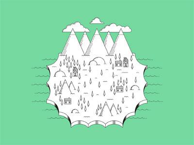 Territorio Comanche illustration salven