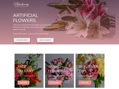 Flowers - WooCommerce Online Store florist website online store commerce online store woocommercewebsite woocommerceplugins woocommerce theme woocommerce website design