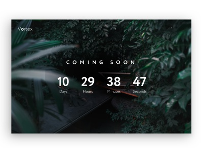 Countdown Timer- Daily UI 014 014 dailyui014 design daily ui ui
