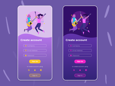 Sign Up dailyui daily ui sign up screen sign up user interface design user interface ui design ui figma design figma dailyui 001 dailyuichallenge