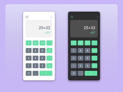 Calculator dailyui 004 calculator design calculator ui daily ui dailyui user interface dailyuichallenge figma design figma user interface design concept design ui design ui design