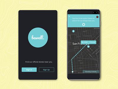 Location Tracker mobile app dailyui020 app map location location tracker uiux ui design user interface design concept design figma design figma dailyuichallenge dailyui
