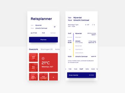 Train Planner App