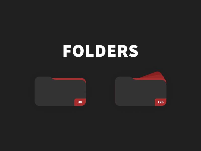Dokyu Motion Folder Icon Designs after effects svg minimal