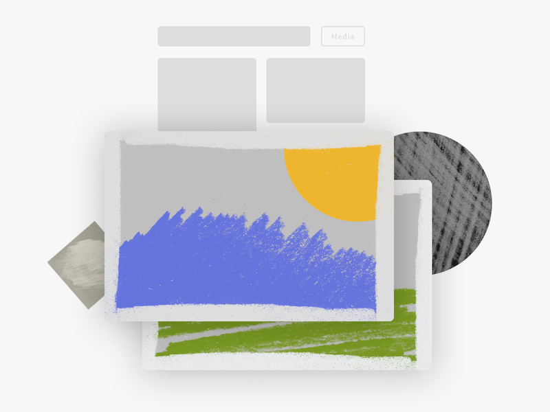 Dokyu Motion - Fun Minimal Media Illustration ux design illustration after effects minimal