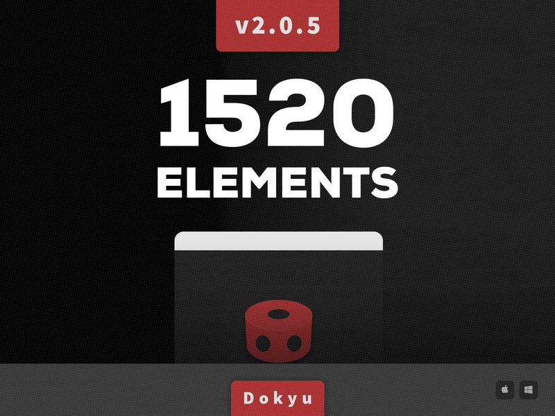 Dokyu Motion v2.0 Update after effects dark theme feathering gradient shaodw