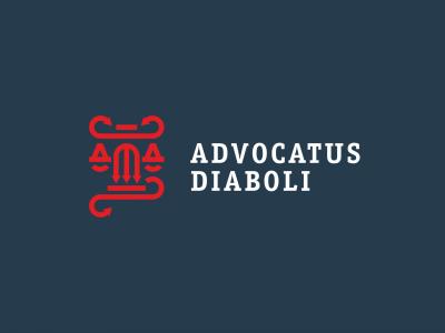 Advocatus Diaboli justice libra column devil