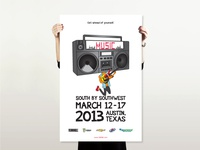 SXSW Poster Series: Music