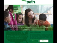 Nonprofit Web Mockup WIP