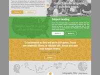 Nonprofit Website - Homepage Detail