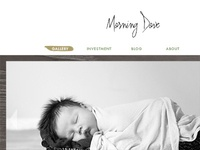 Photography Business Rebrand - Website Design