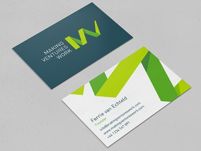 Business cards for new brand logo business cards