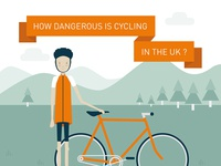Cycling deaths infographic