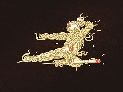 Ramen wear street zillamunch fresh japan legend design t-shrt lover pasta illustration ramen