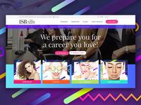Iowa School of Beauty – New Website