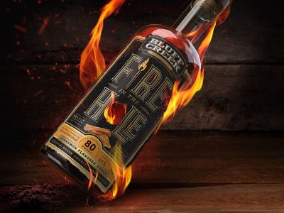 Fire in the Hole Cinnamon Flavored Vodka