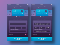 Dayli UI - Credit Card Payment