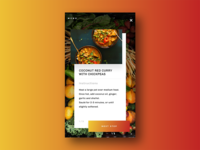 Daily Ui - Recipe