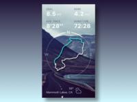 Dayli UI - Run Route