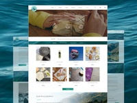 Algae Goods Web Site Design Dribbble