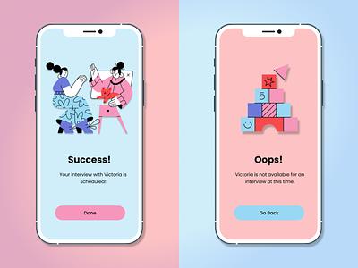 Daily UI :: 011 Flash Message app branding ui design dailyui ux figma