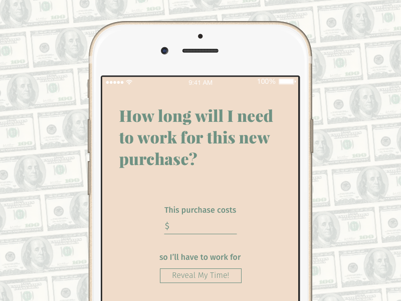 Purchase to Working Time Calculator iPhone App by LaTeisha