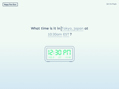 Time Zone Website uxui time zone converter time zone