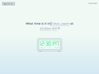 Time Zone Website