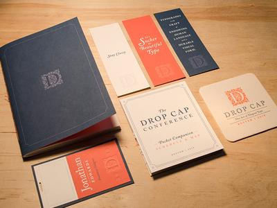 Design Conference Branding conference typography elegant classy letterpress serif branding gabriel schut