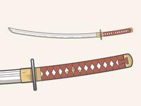 Katana Sword vector