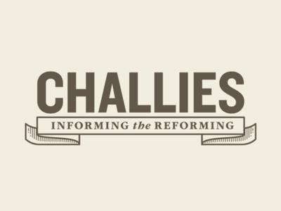 Challies logo classical traditional gabriel schut web ribbon banner logo