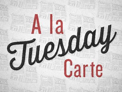 Newsprint daily tuesday daily script typography vintage print texture gabriel schut