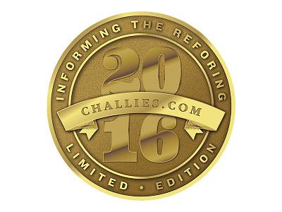Metal Token Design gold giveaway token coin metal typography elegant classy branding gabriel schut