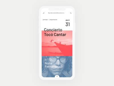 MMHC - Featured Events colombia responsive clean white mobile events