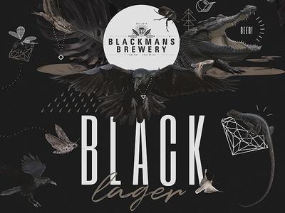 Blackmans Black Lager