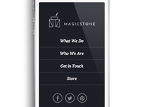 Magic Stone Mobile Site
