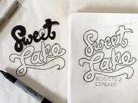 Sweet Lake Lettering