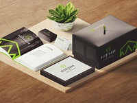 Decktagon Brand Mockup