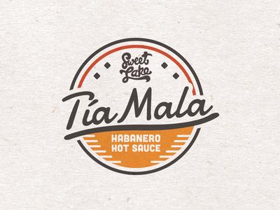 Tia Mala Badge salt lake city visual identity branding restaurant food badge packaging label