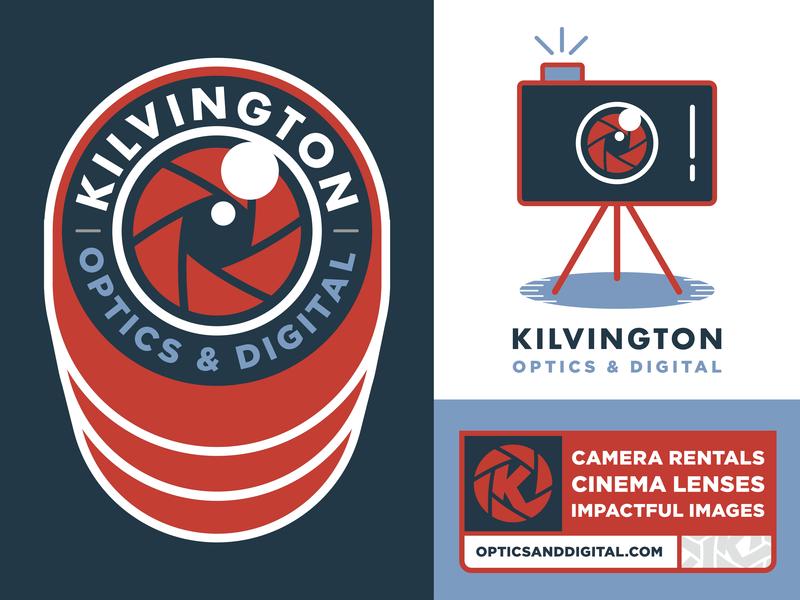 Kilvington Visual Identity Elements salt lake city badge design badgedesign videography photography logo t-shirt illustration graphic design design badge visual identity identity branding