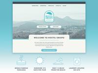 Hostel Obispo Visual Identity & Website